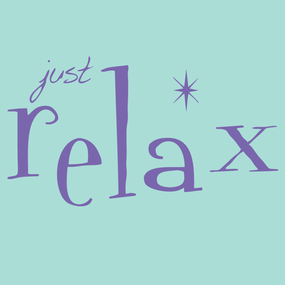 just relax logo